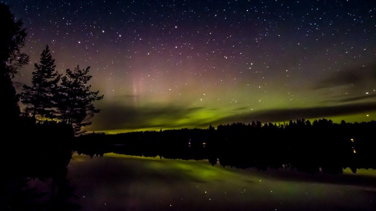 Polarlichter im Värmland