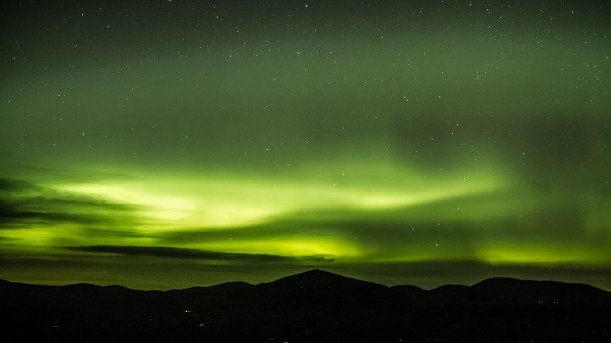 Polarlichter in Skandinavien