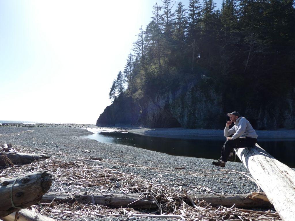Relaxen auf dem West Coast Trail 2 P1030883