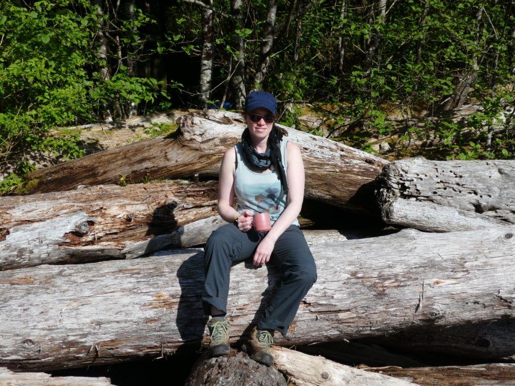 Relaxen auf dem West Coast Trail P1030885