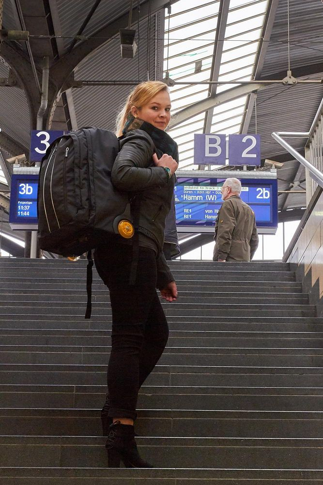 Rucksack Koffer mit Rollen