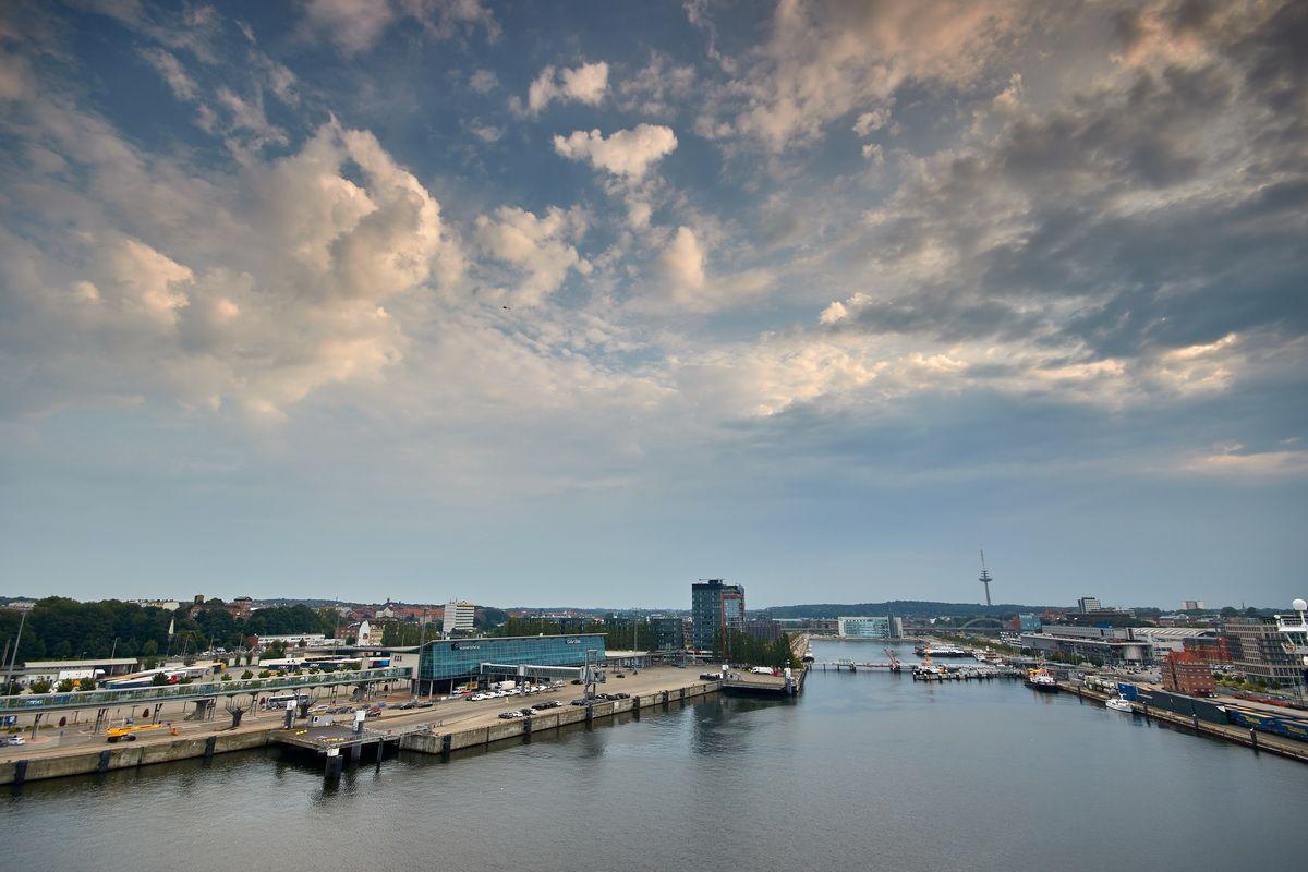 Schifffahrt von Kiel nach Göteborg