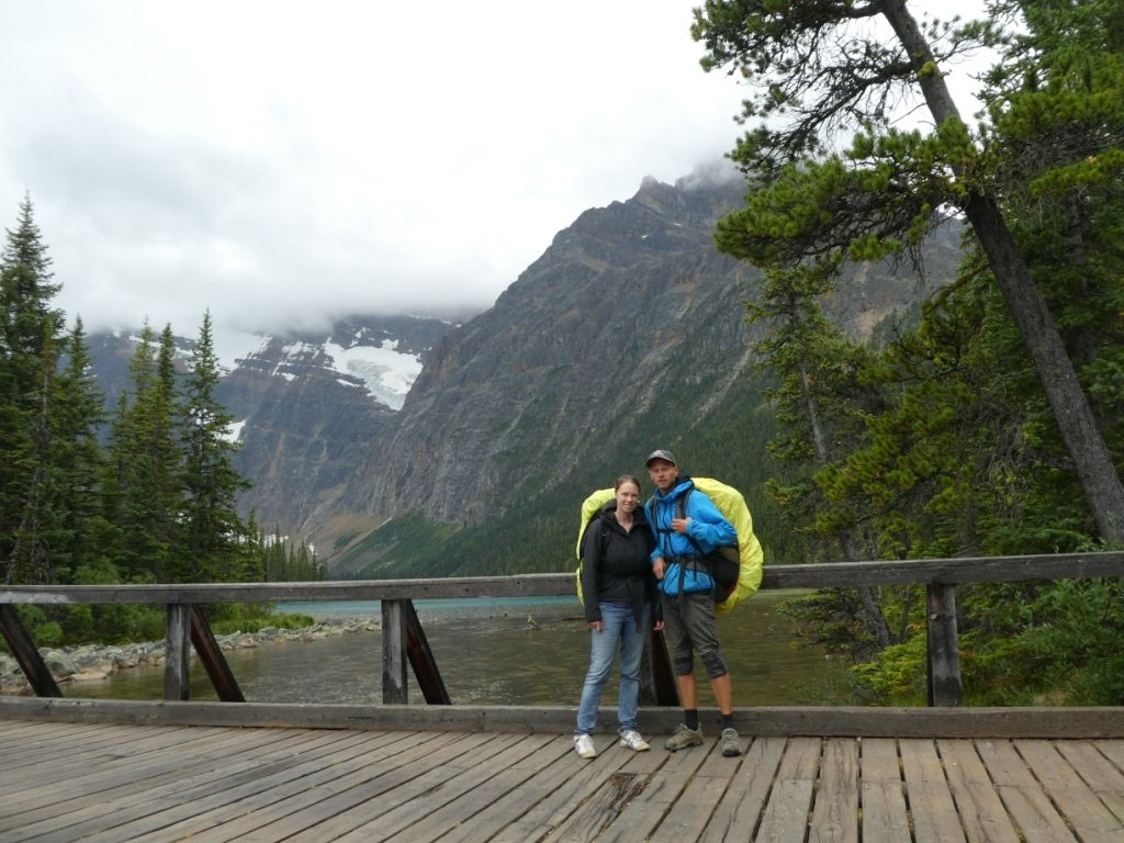 See am Ende des Tonquin Valley Trail