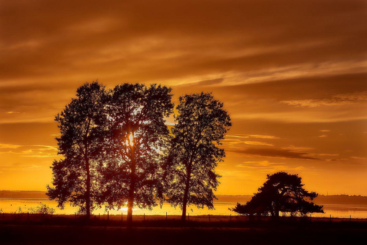 Sonnenuntergang in Skandinavien