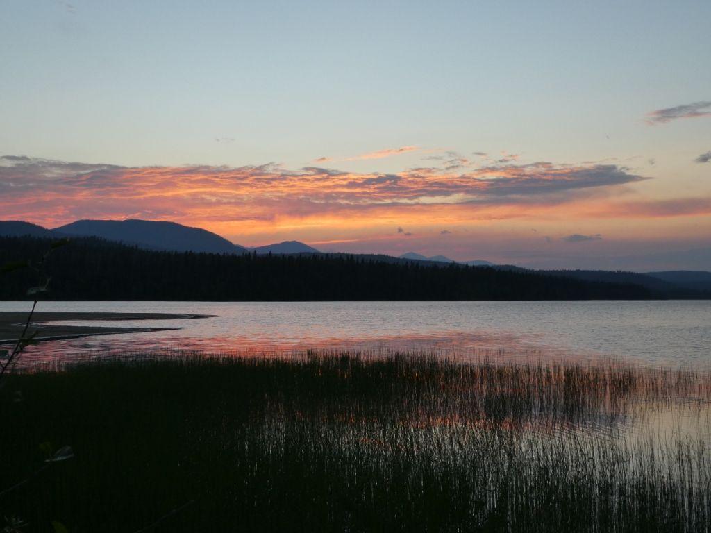 Spectacle Lake - Sonnenuntergang