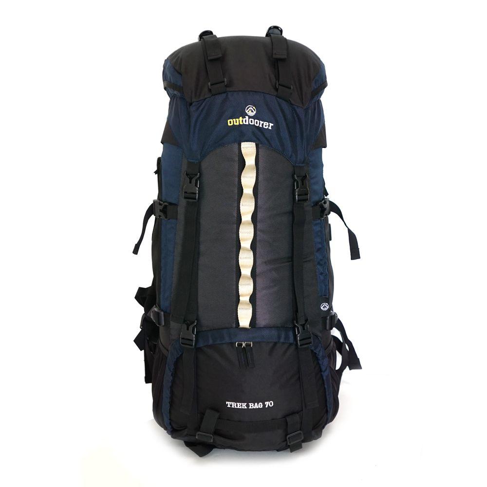 Trekkingrucksack Trek Bag 70 Frontansicht