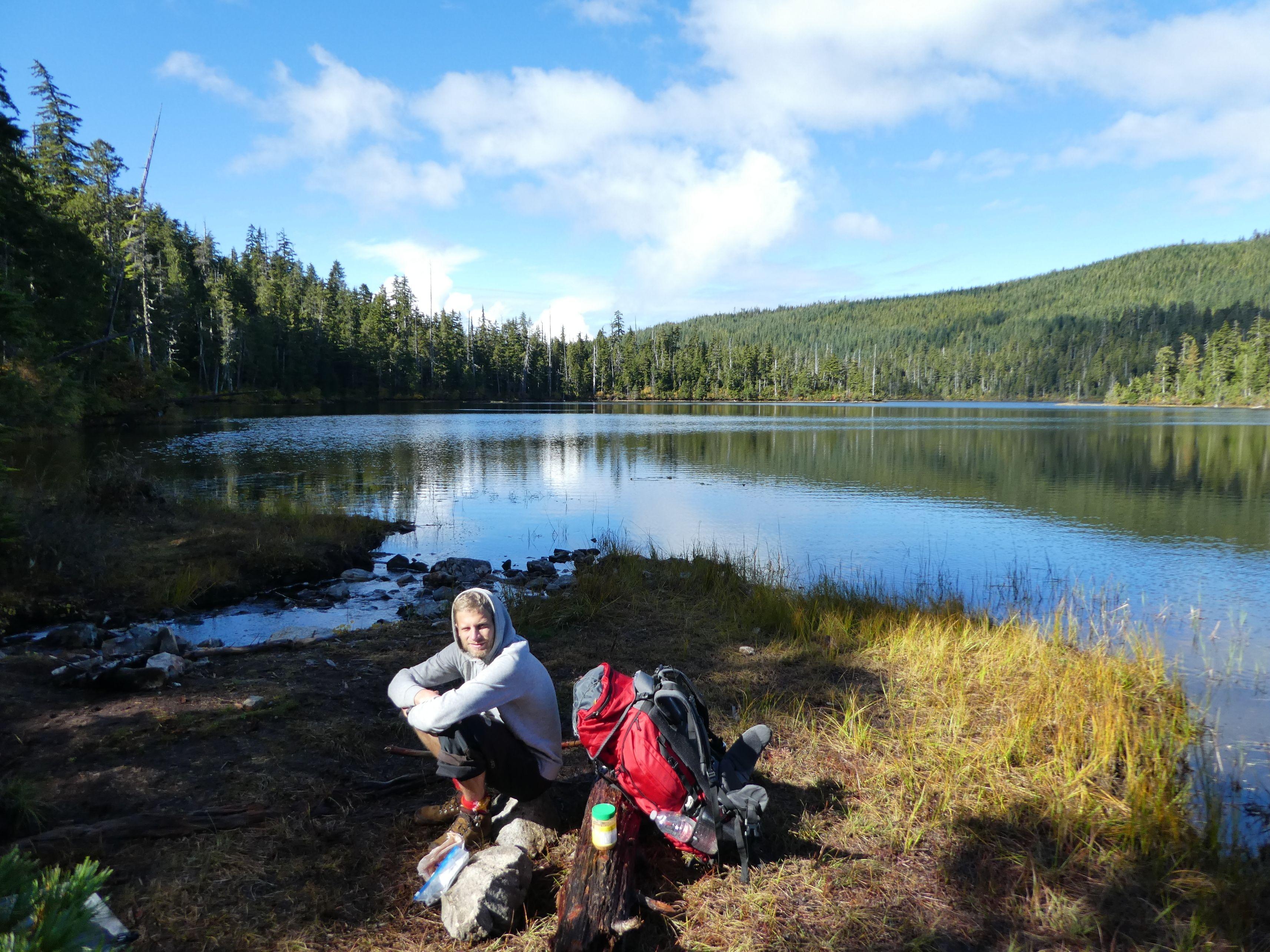 Trekking mit dem Work & Traveller Rucksack