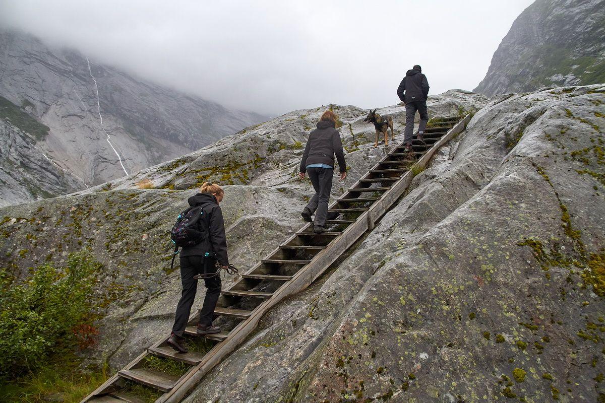 Wanderung zur Endmörane des Nigardsbreen