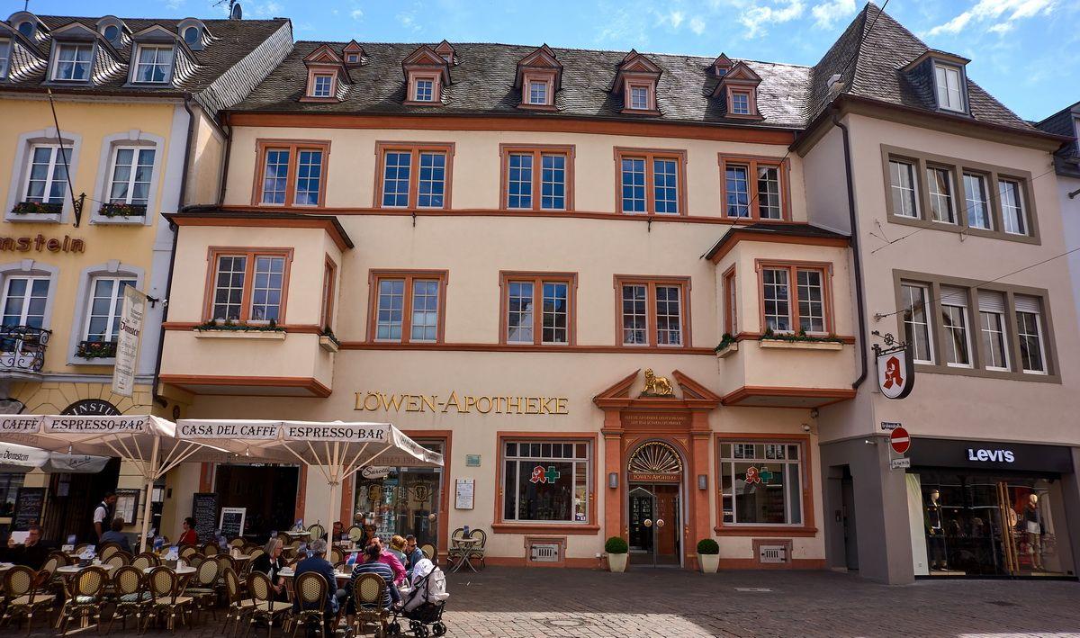 älteste Apotheke Deutschlands in Trier