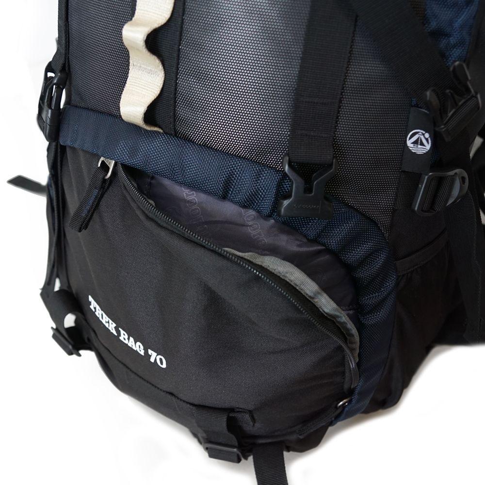 Backpacker Rucksack mit Frontzugang