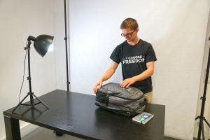 Rucksackvideo Making of